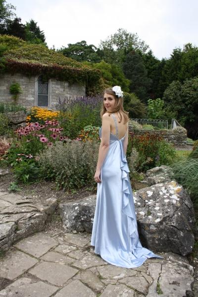 19 Natalie Blue Evening Gown Prom Dress Natalya James