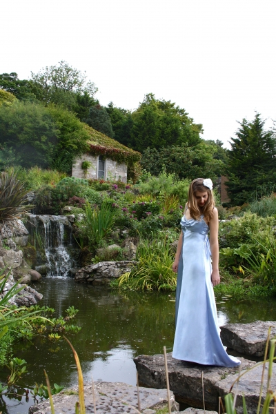 18 Natalie Blue Evening Gown Prom Dress Natalya James