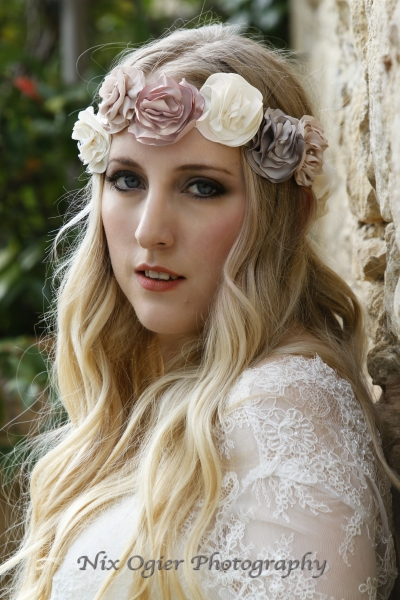 15 Rose Hairband Natalya James
