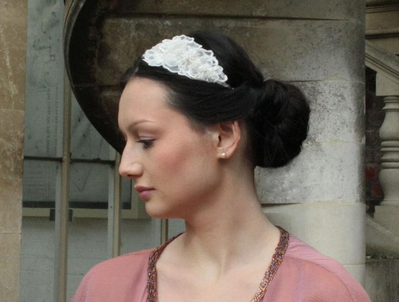 Polly Crystal Beaded Hair Band Castle Ashby Natalya James