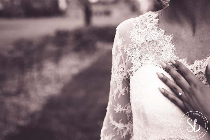 95 Castle Ashby Natalya James Bridal Lace Wedding Dress