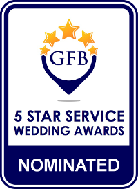 Nominate for Guides for Brides Five Star Customer Service Awards