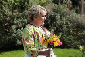 Bespoke wedding jacket  by Natalya James Bridal