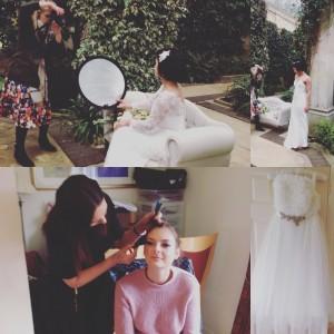 Bridal photoshoot Sneek peek Natalya James bridal