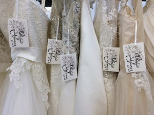 Natalya James Bridal pop up boutique shop at the National Wedding Show Birmingham NEC Mabel Alexandra collection