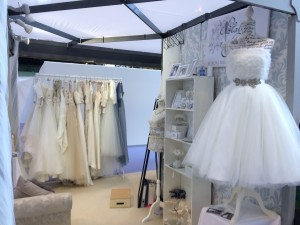 Natalya James bridal boutique shop at the National Wedding Show in Birmingham NEC