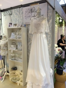 Natalya James Bridal Boutique bridal shop National Wedding Show Birmingham NEC Mae skirt and Jasmine lace top from Mabel Alexandra Collection