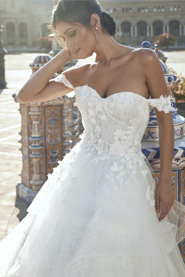 Marchesa for Pronovias wedding dress